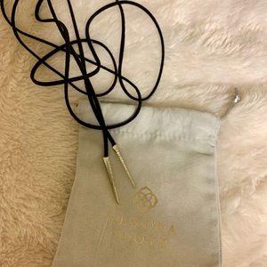 Kendra Scott Jewelry - Kendra Scott 'Pierce' Leather Chocker